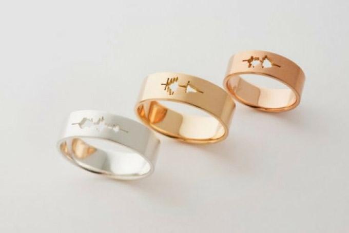 Waveform-Wedding-Bands-from-Jewelry-Designer-Sakurako-Shimizu